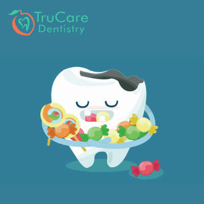 An unhealthy lifestyle affects oral health