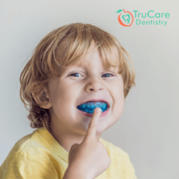 Why is using a mouthguard important for kids participating in contact sports?