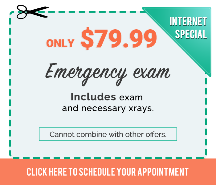 Promotions & Special offers TruCare Dentistry $79 Emergency Exam